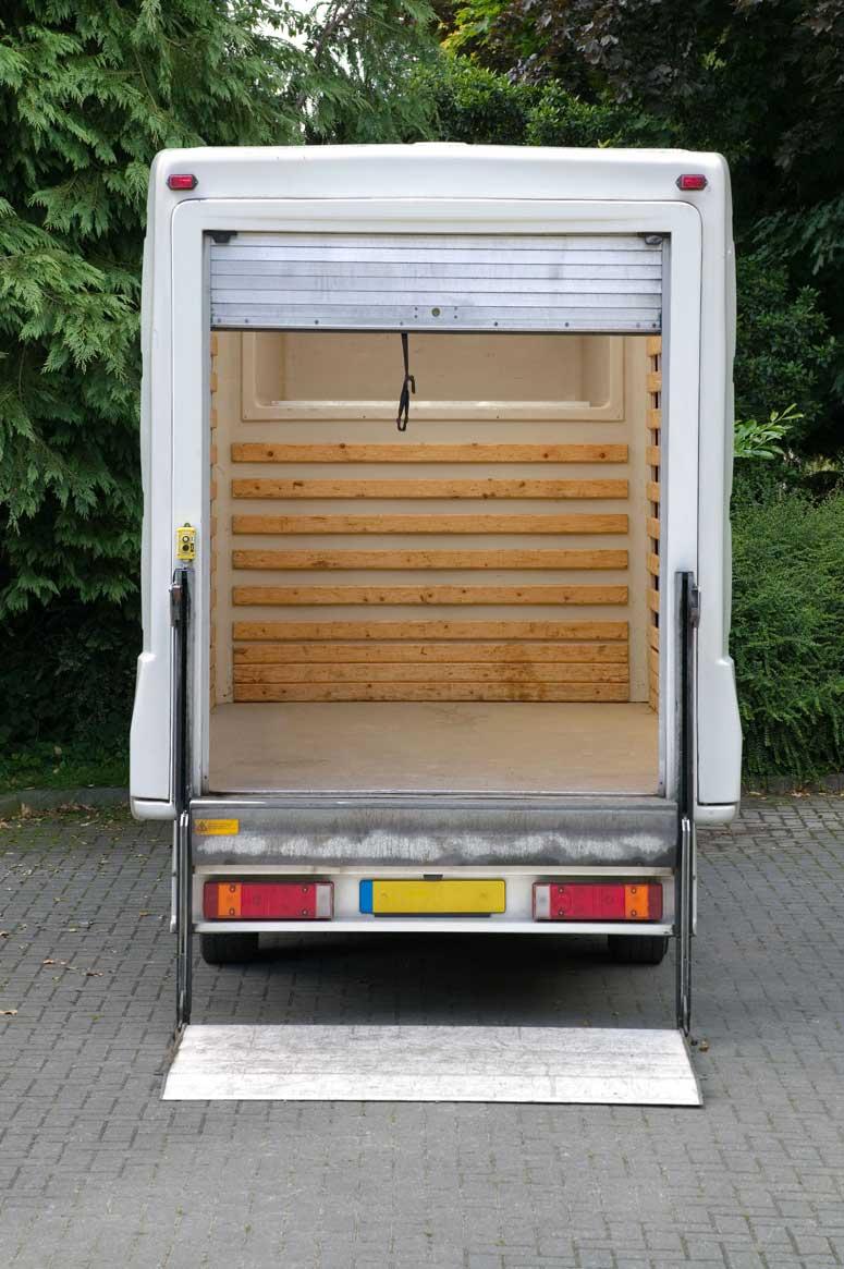 removal van Bristol